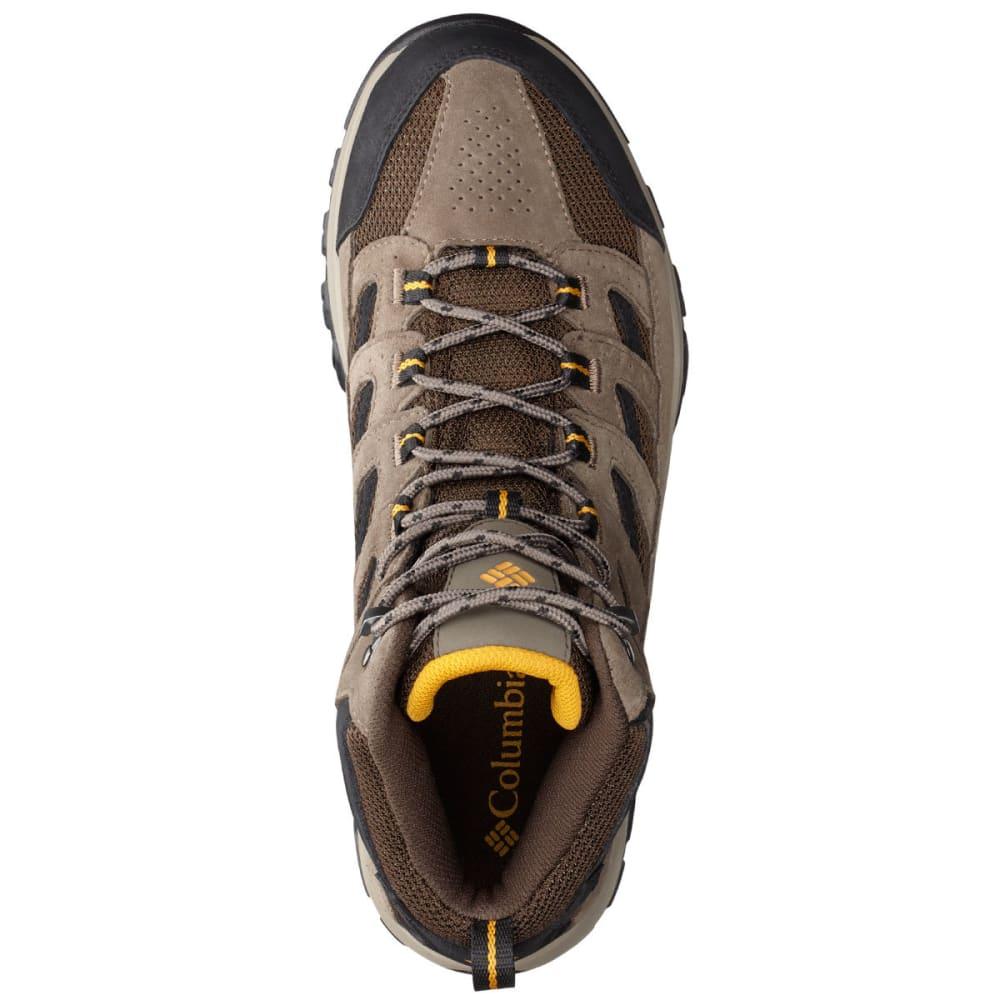 COLUMBIA Men's Crestwood Mid Waterproof Hiking Boots, Wide - CORDOVAN