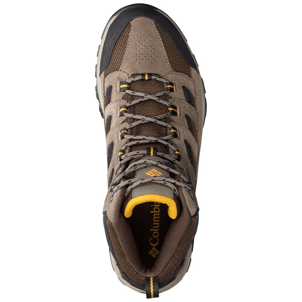 COLUMBIA Men's Crestwood Mid Waterproof Hiking Boots - CORDOVAN