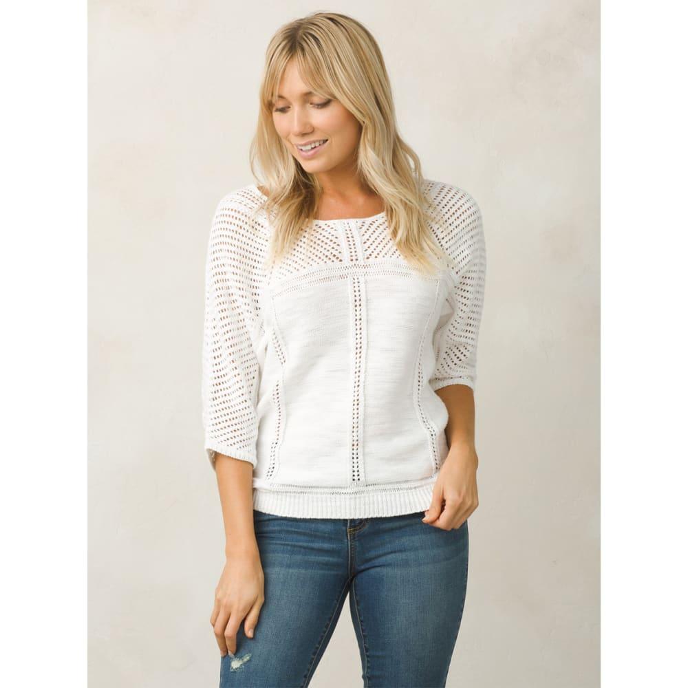 PRANA Women's Getup Sweater - WHITE