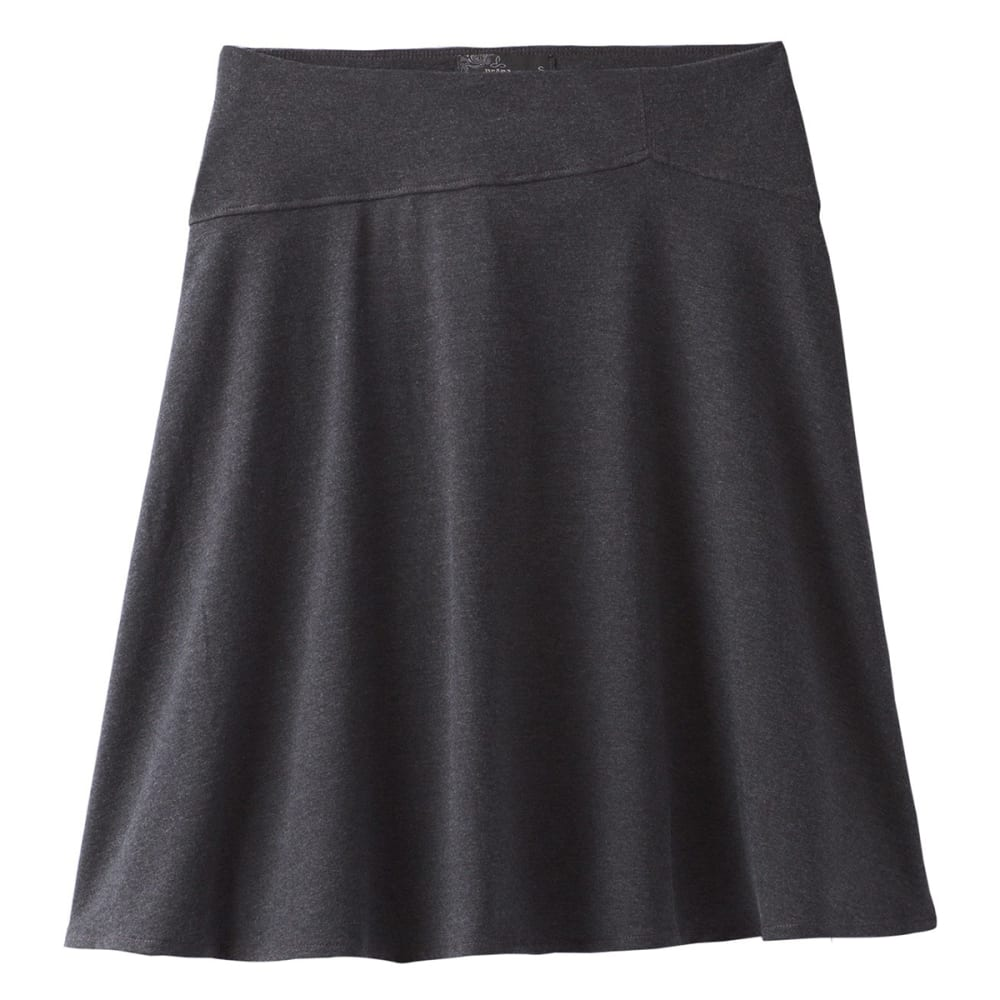 PRANA Women's Camey Skirt - BLACK