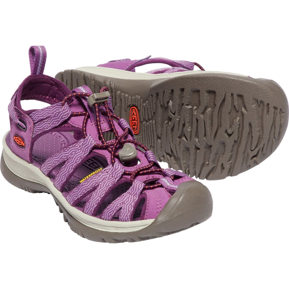KEEN Women's Whisper Sandals - GRAPE KISS