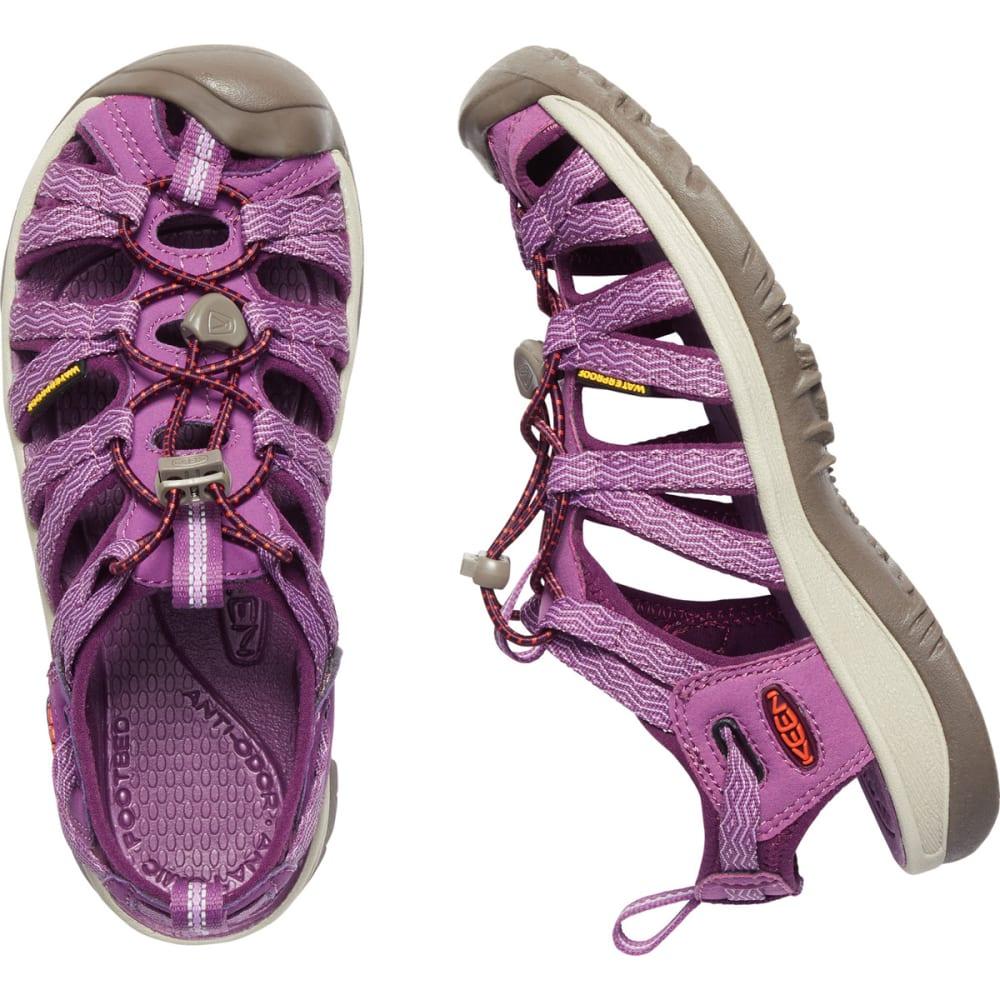 KEEN Women's Whisper Sandals - GRAPE KISS