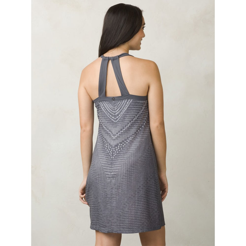 PRANA Women's Cantine Dress - CHARCOAL SYNERGY