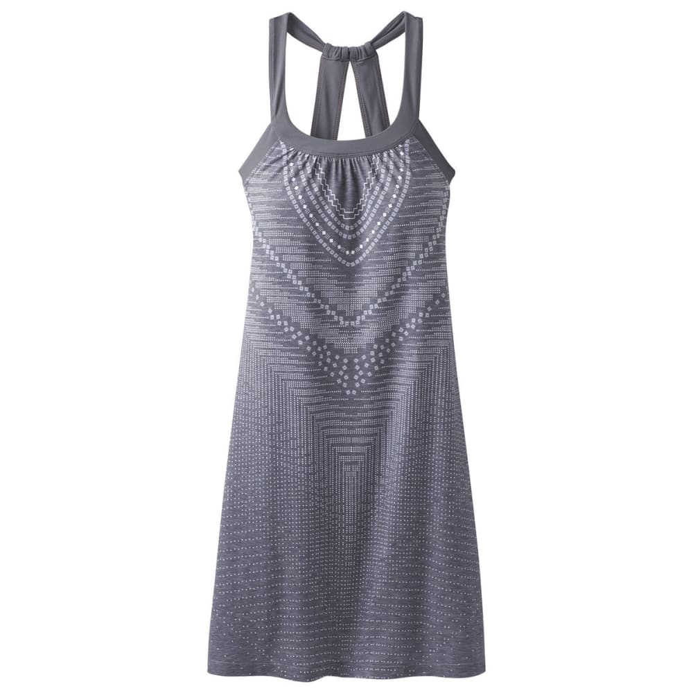 PRANA Women's Cantine Dress - CHARCOAL SYNERGY