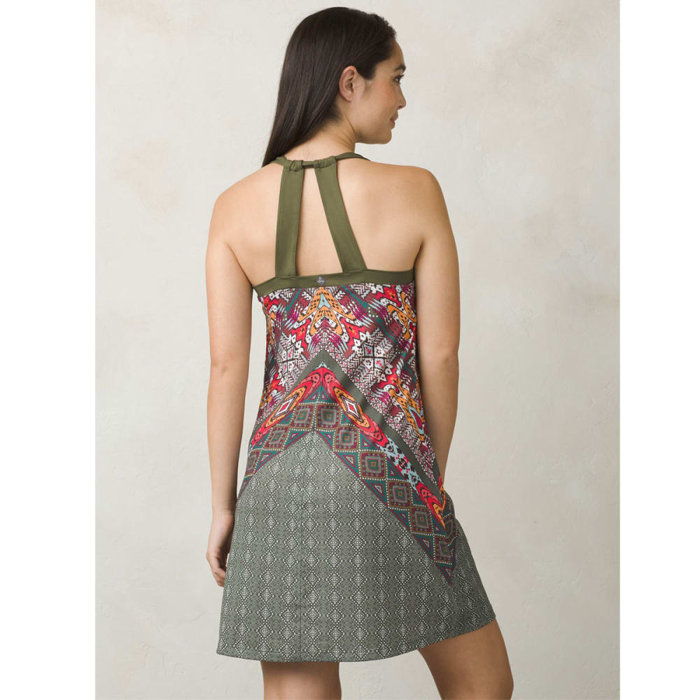 PRANA Women's Cantine Dress - CARGO MARRAKESH