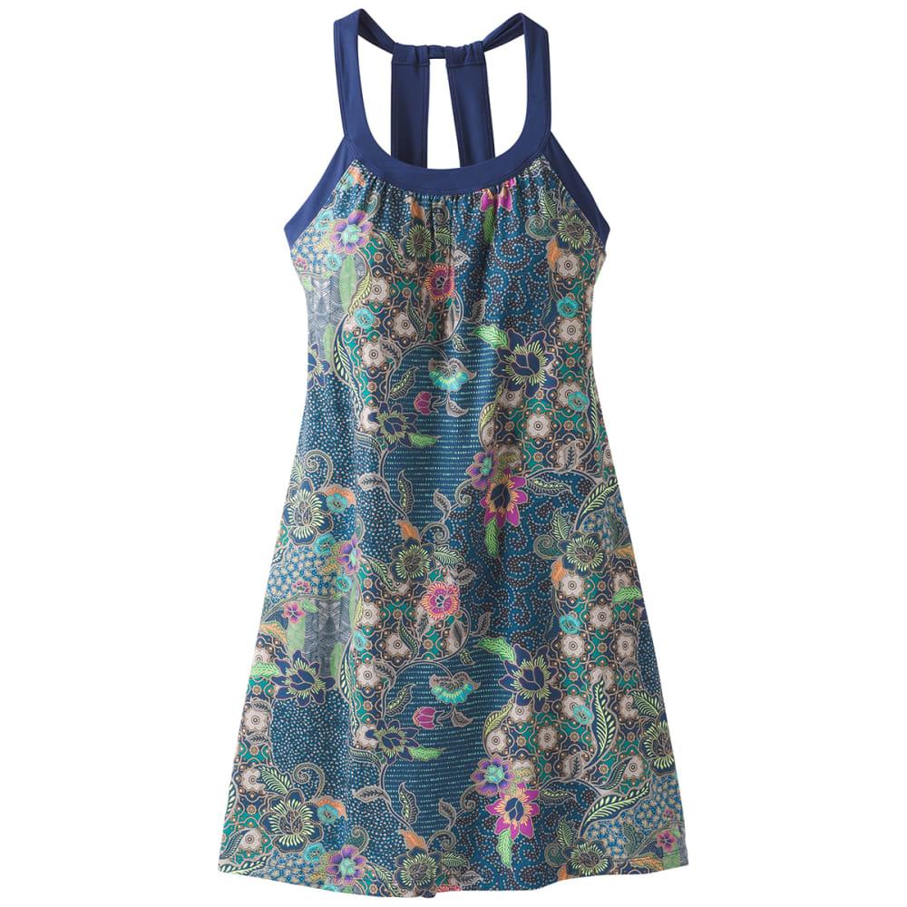 PRANA Women's Cantine Dress - BLUE ANCHOR KONA