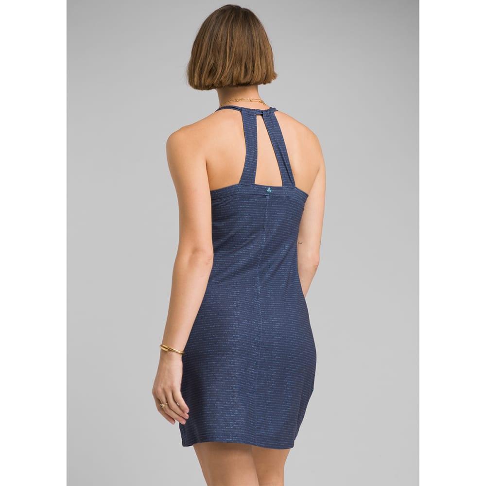 PRANA Women's Cantine Dress - BLU ANCHOR SEA SPRAY