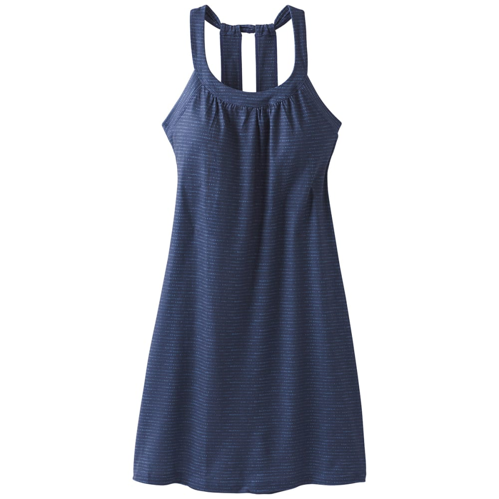 PRANA Women's Cantine Dress - BLU ANCHOR SEA SPRAY
