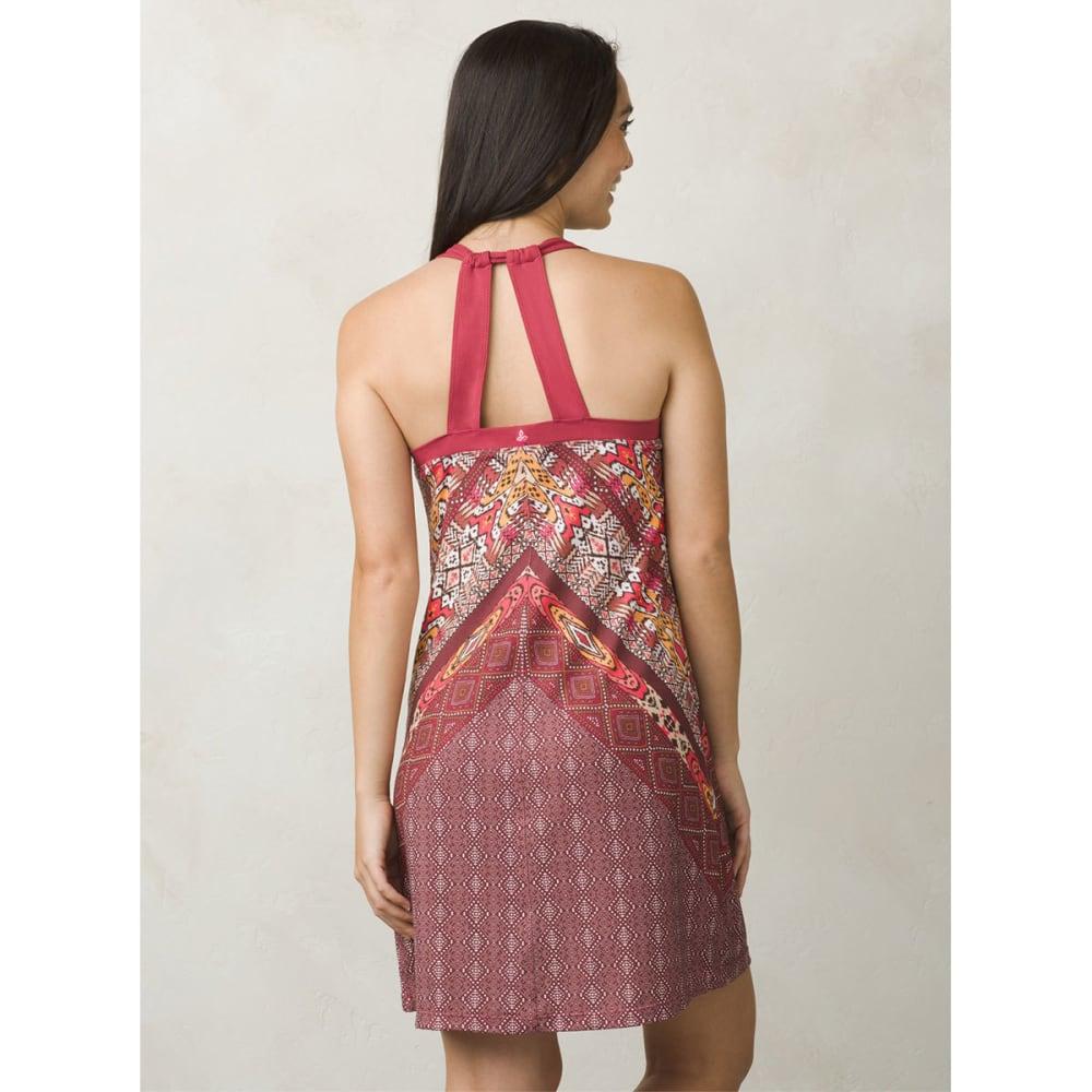 PRANA Women's Cantine Dress - CRUSHED CRAN MARRAKS