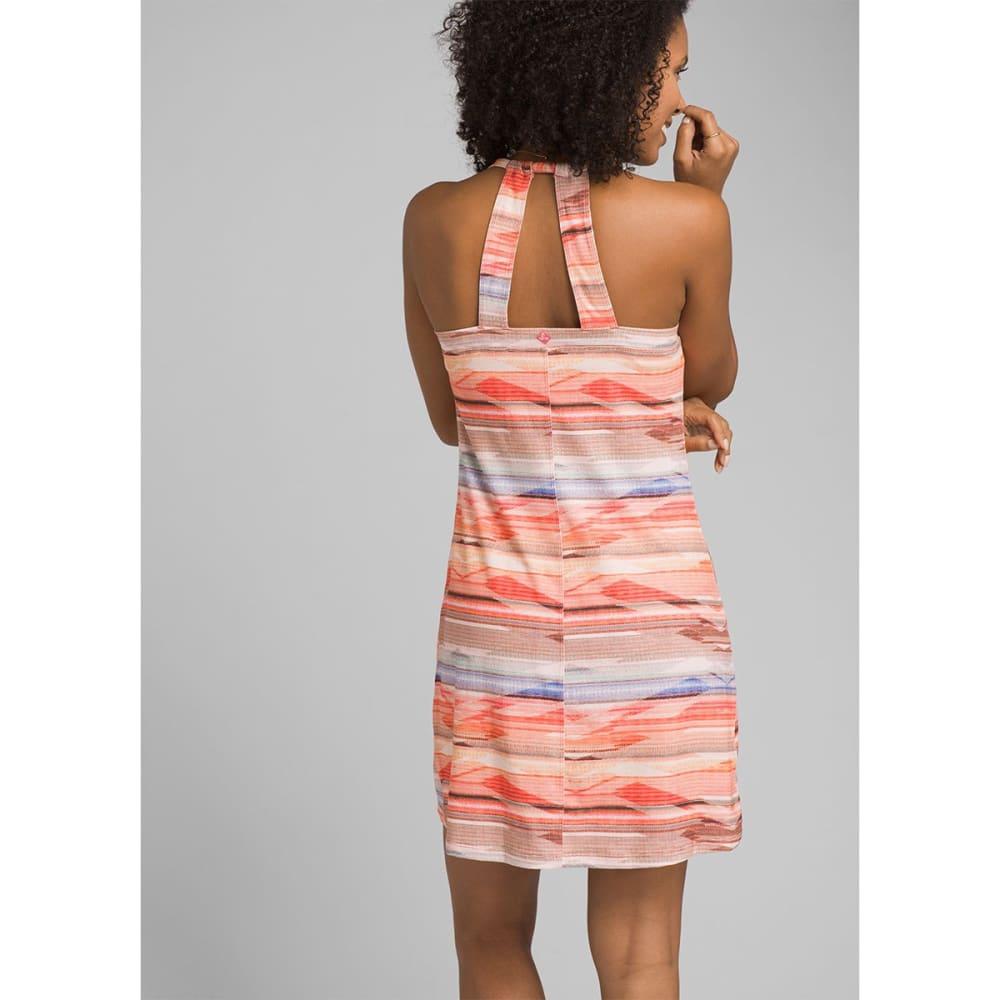 PRANA Women's Cantine Dress - Peach Bonita