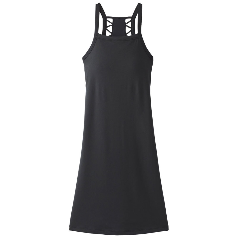 PRANA Women's Ardor Dress - BLACK HRCHATA