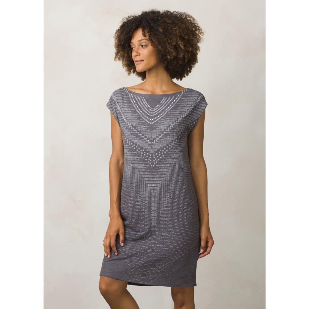 PRANA Women's Sanna Dress - CHARCOAL SYNERGY