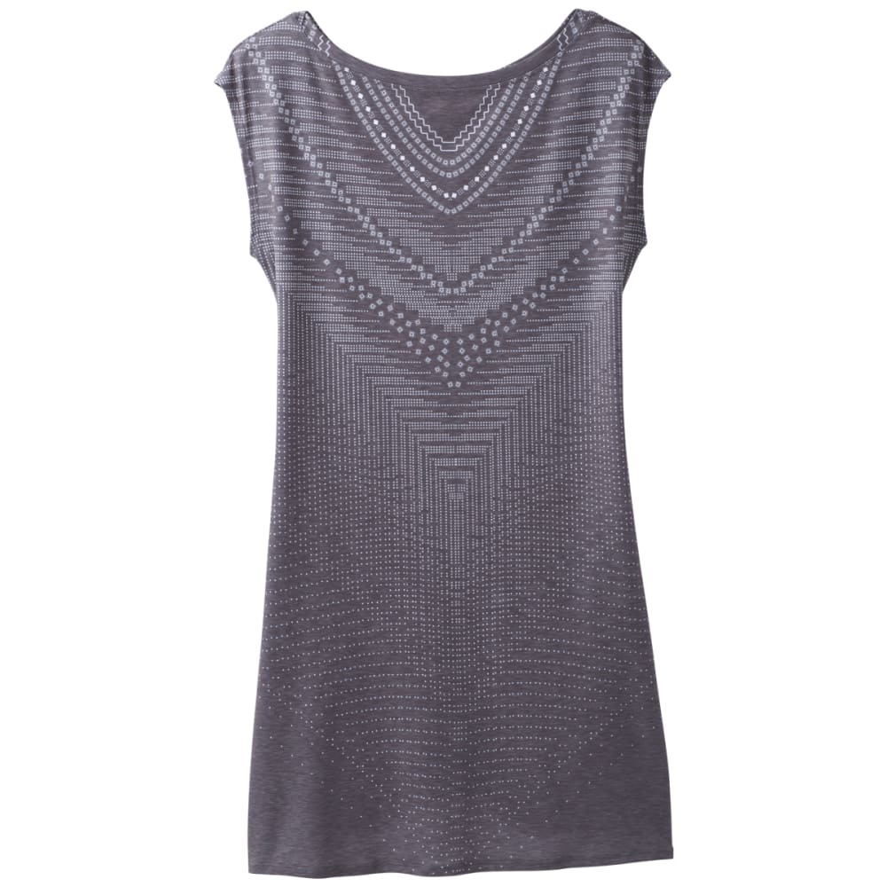 PRANA Women's Sanna Dress - CHARCOAL SYNERGY