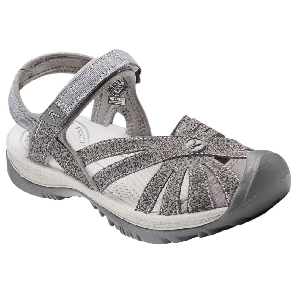 KEEN Women's Rose Sandals - GARGOYLE/RAVEN