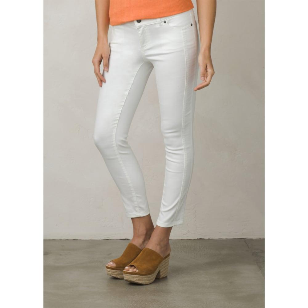 PRANA Women's Carlotta Cropped Pants - WHITE