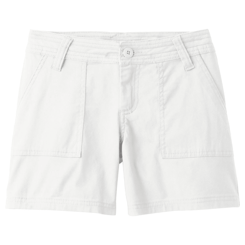 "PRANA Women's Tess 5"" Short - WHITE"