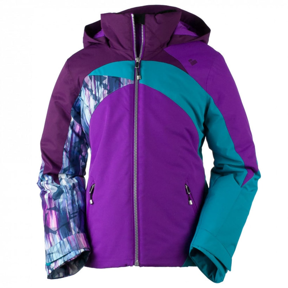 OBERMEYER Girls' Tabor Jacket - VIOLET VIBE