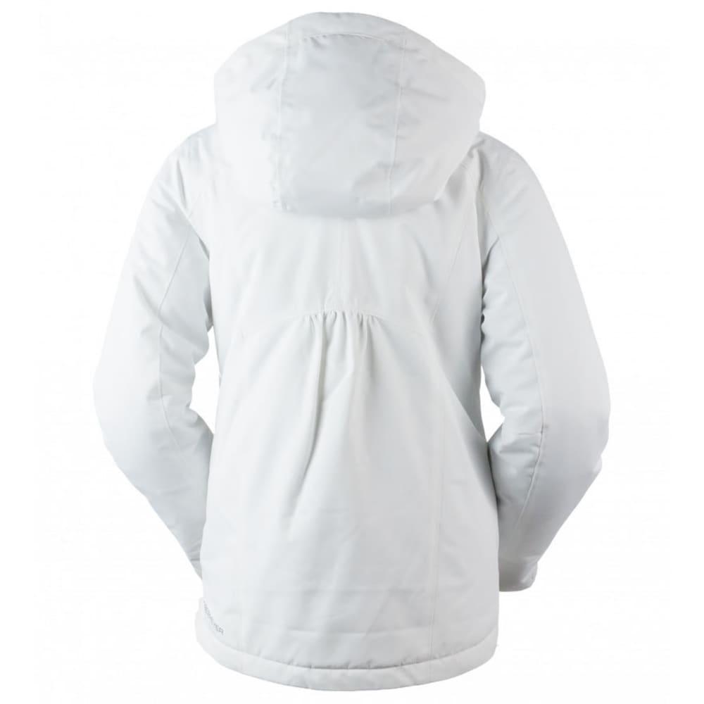 OBERMEYER Girls' Kenzie Jacket - WHITE