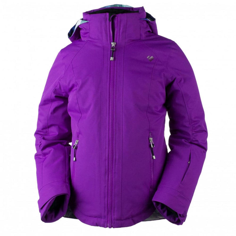 OBERMEYER Girls' Kenzie Jacket - VIOLET VIBE