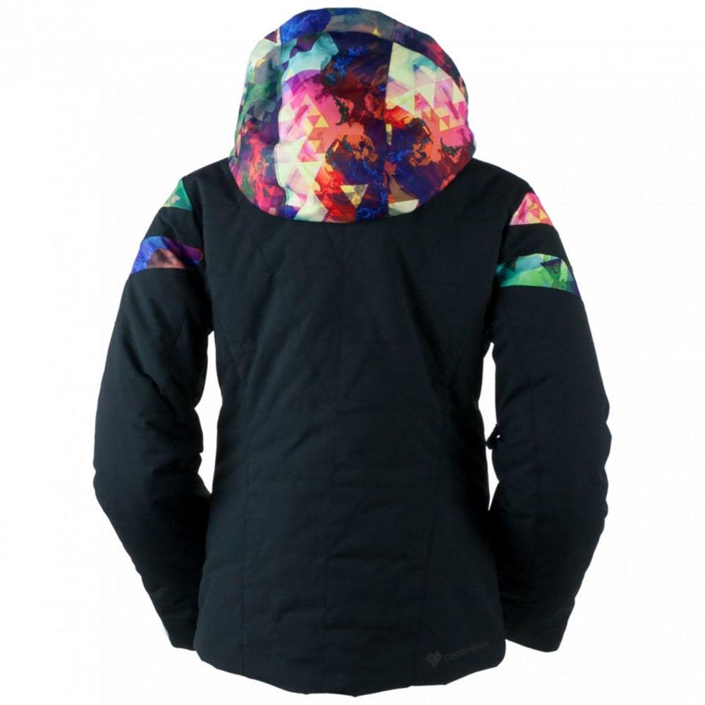 OBERMEYER Girls' Dyna Jacket - BLACK