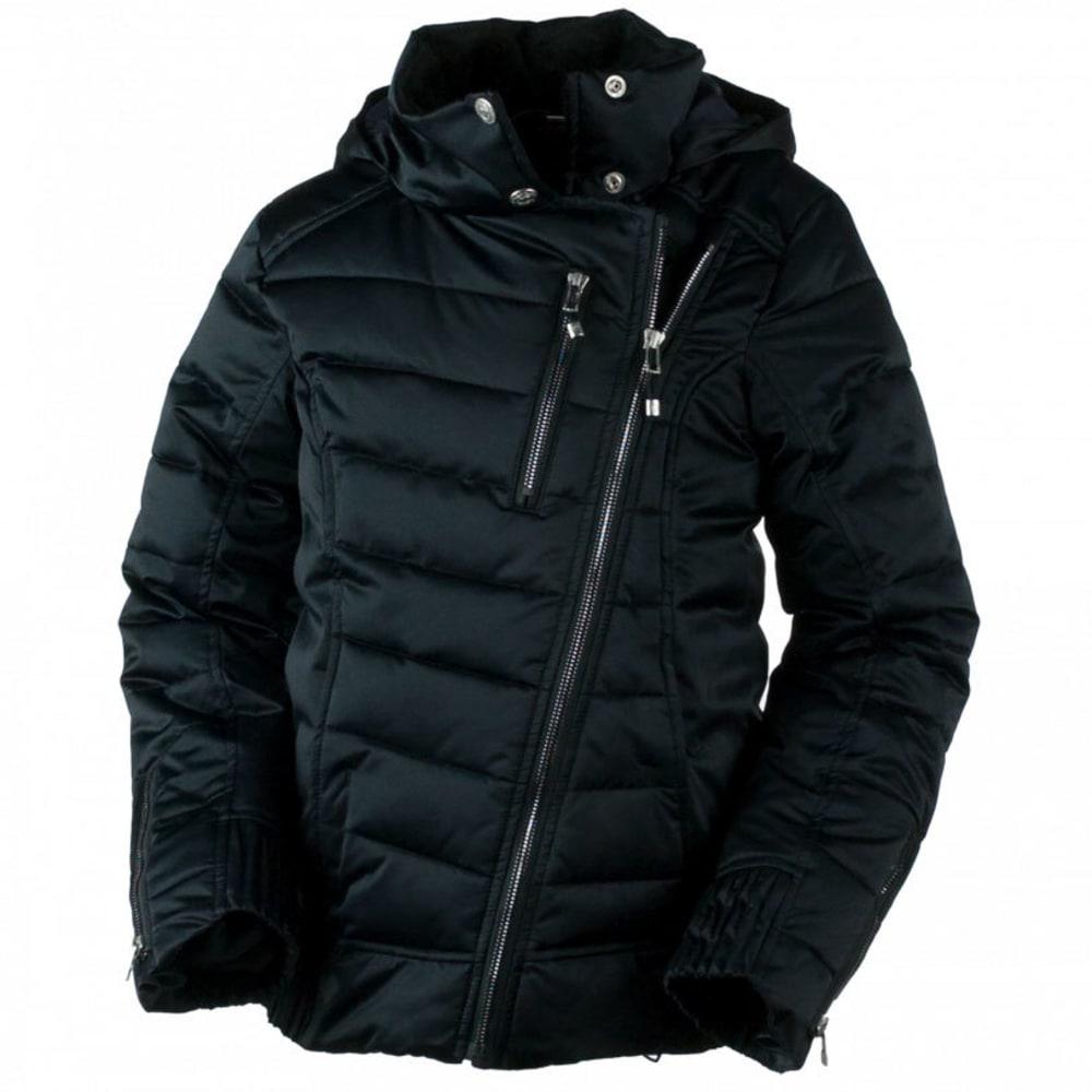 OBERMEYER Girls' Aisha Jacket - BLACK
