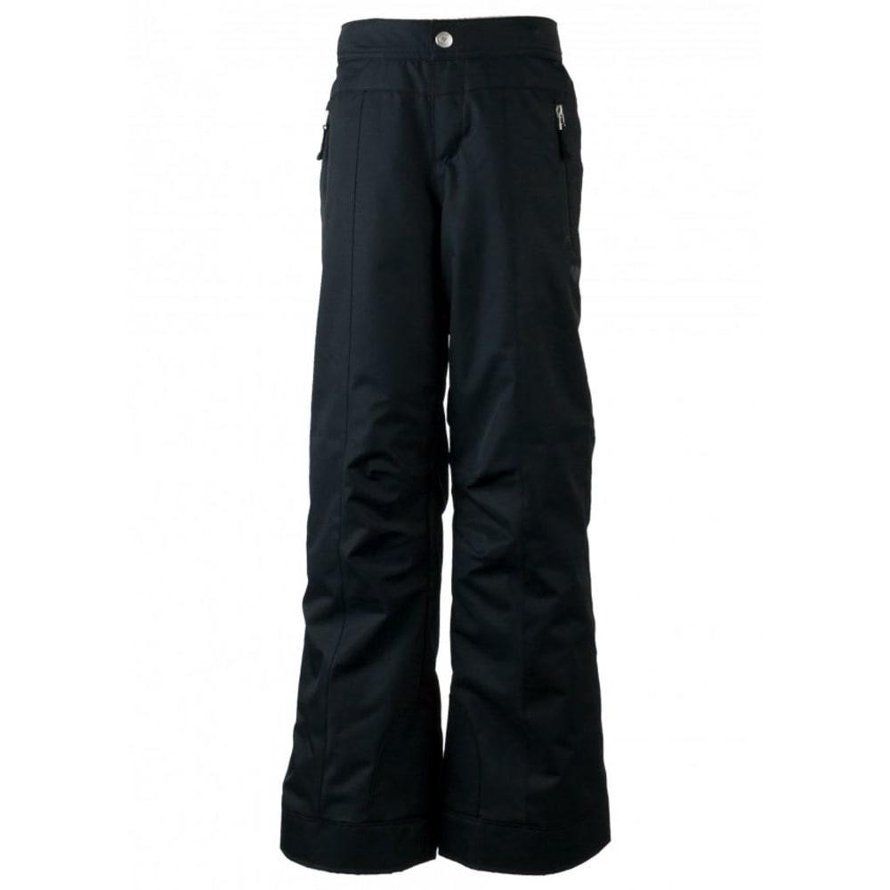 OBERMEYER Girls' Brooke Ski Pants - BLACK-16009