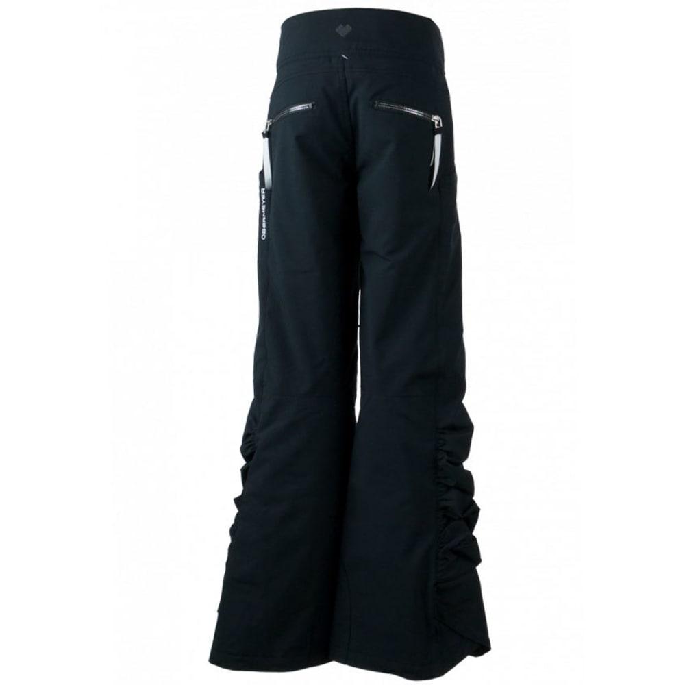 OBERMEYER Girls' Jessi Ski Pants - BLACK