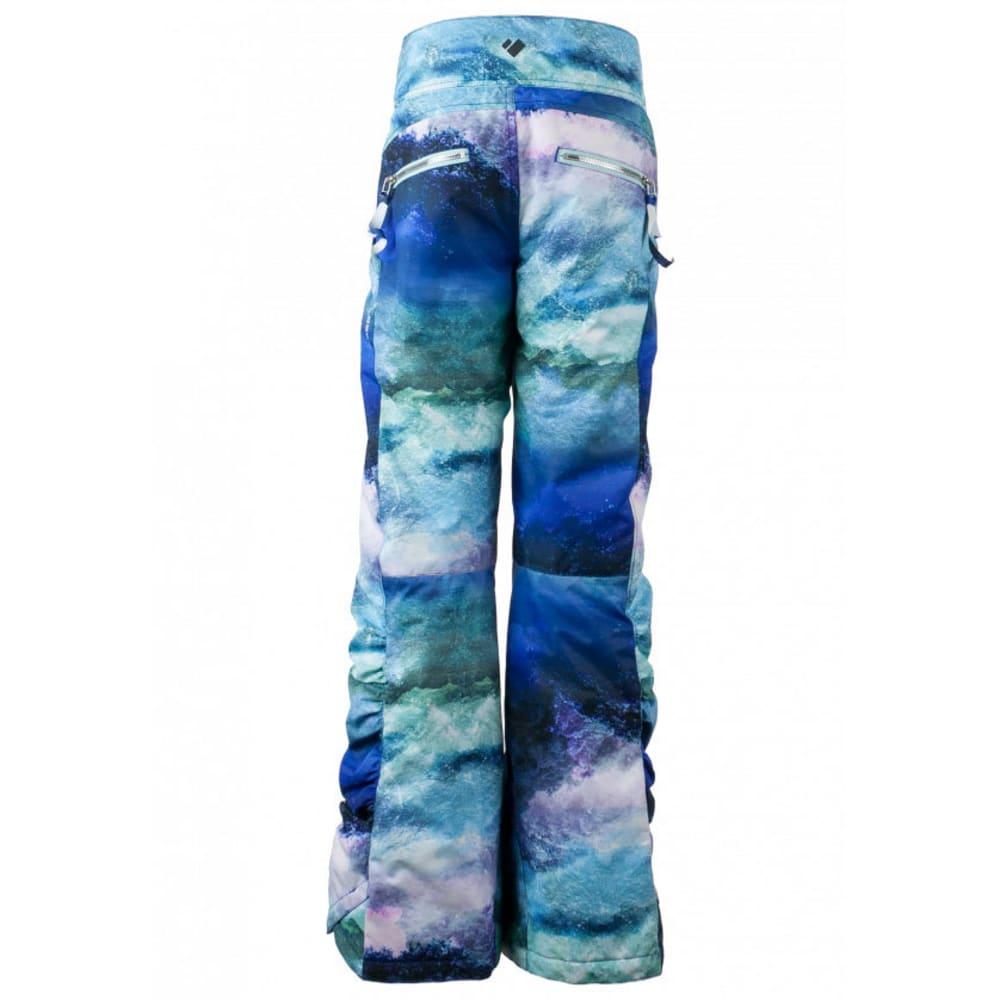 OBERMEYER Girls' Jessi Ski Pants - ELEVATION PRINT