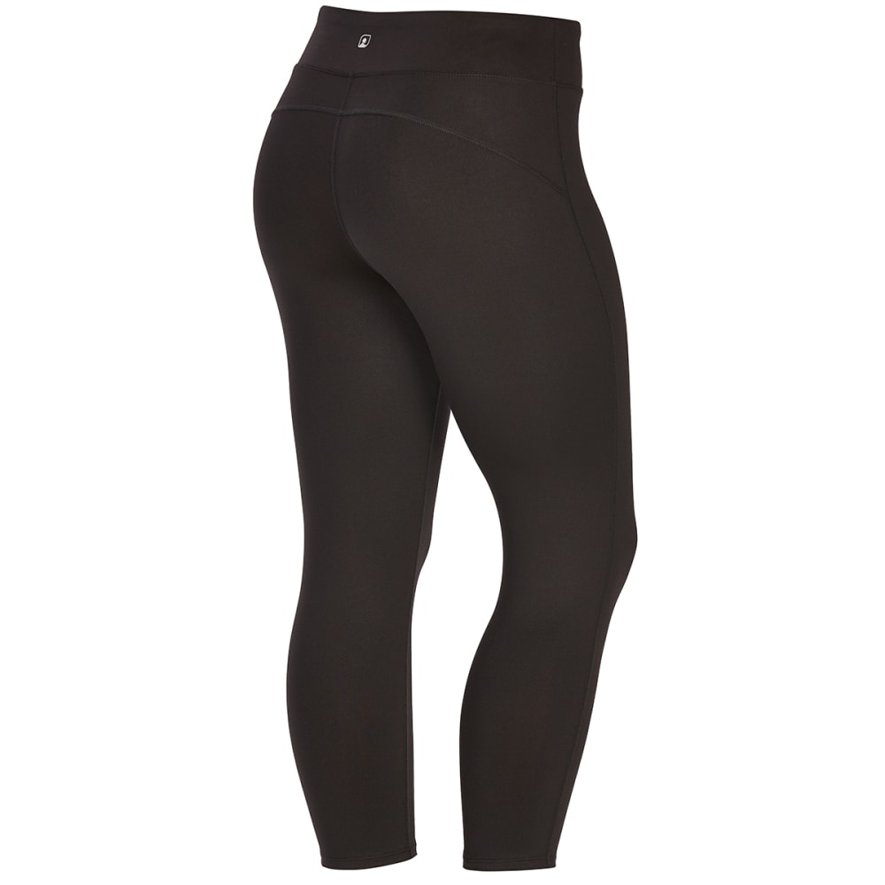 EMS Women's Techwick Fusion Capri Leggings - BLACK