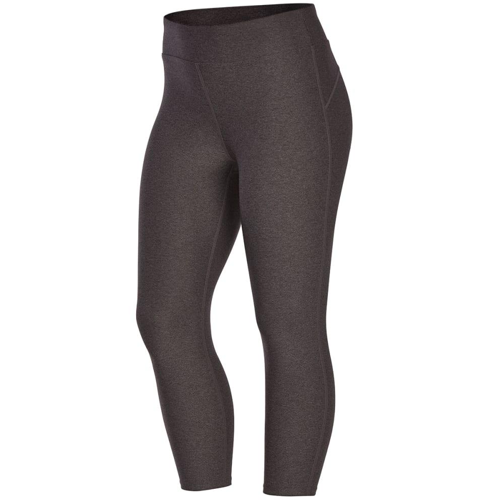 EMS Women's Techwick Fusion Capri Leggings - Black - Size XL S18W0762