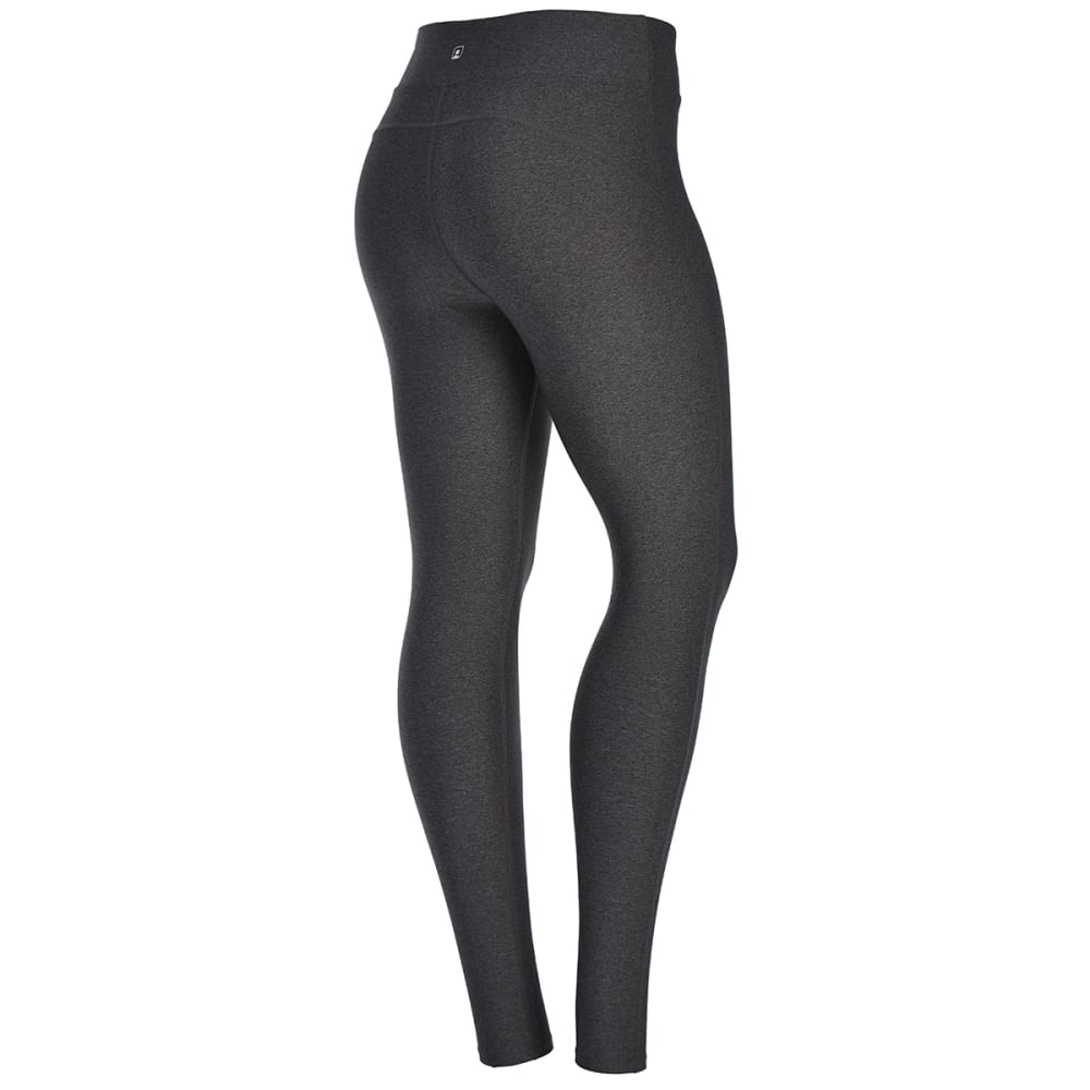 EMS Women's Techwick Fusion Leggings - DK GREY HEATHER