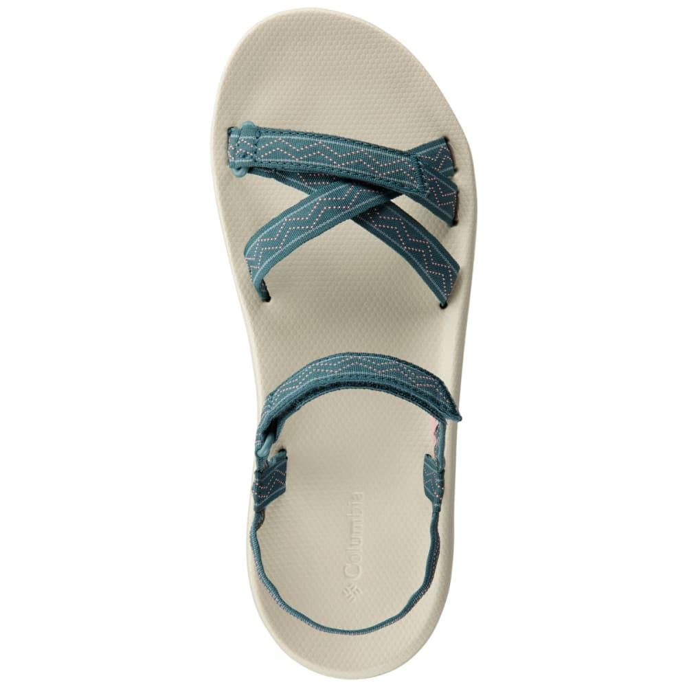 COLUMBIA Women's Wave Train Sandal - CLOUDBURST/WHT