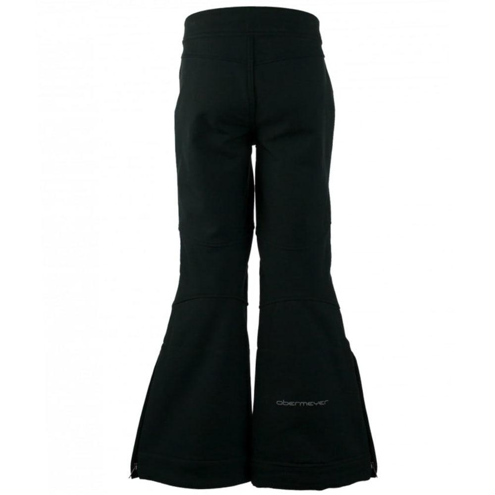 OBERMEYER Girls' Jolie Softshell Ski Pants - BLACK