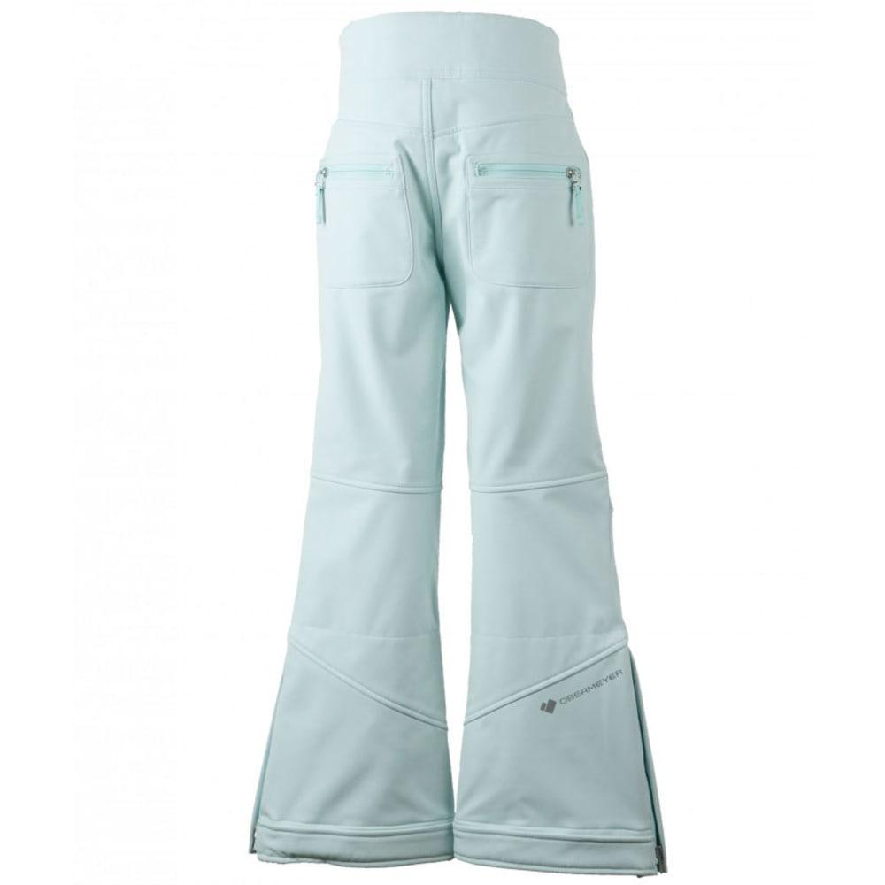 OBERMEYER Girls' Jolie Softshell Ski Pants - SEA GLASS