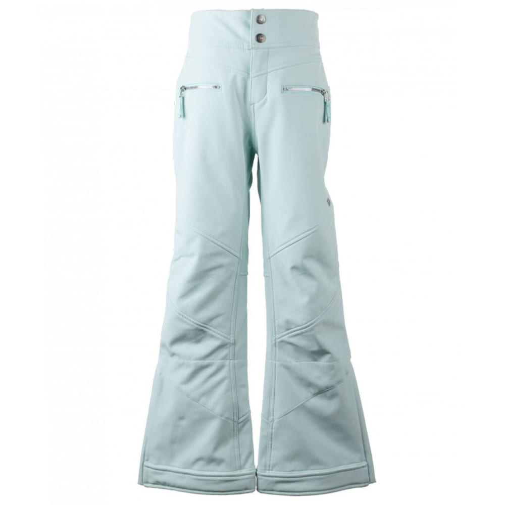 OBERMEYER Girls' Jolie Softshell Ski Pants - SEA GLASS