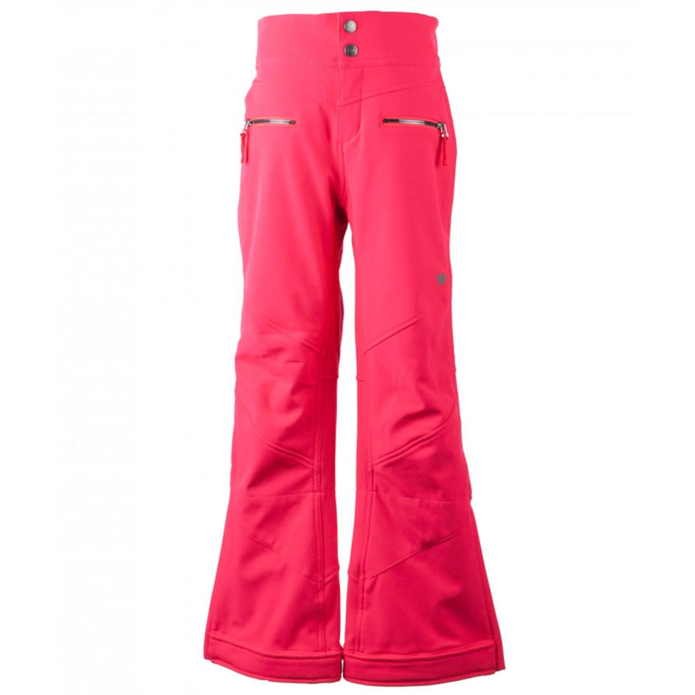OBERMEYER Girls' Jolie Softshell Ski Pants - POPSTAR