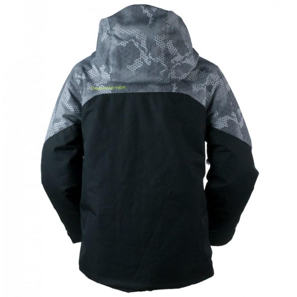 OBERMEYER Boys' Gage Jacket - BLACK