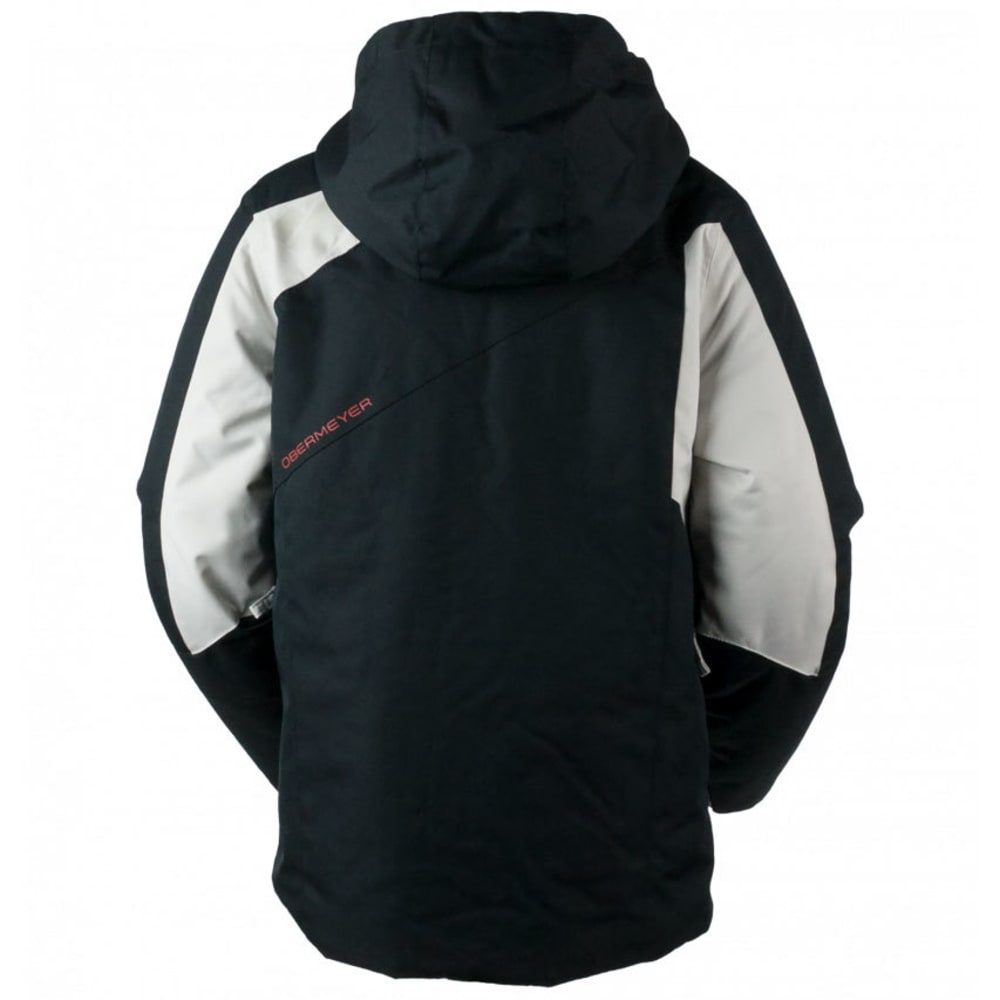 OBERMEYER Boys' Outland Jacket - BLACK