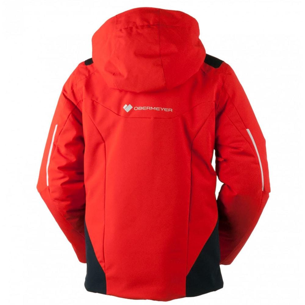 OBERMEYER Boys' Mach 8 Jacket - RED