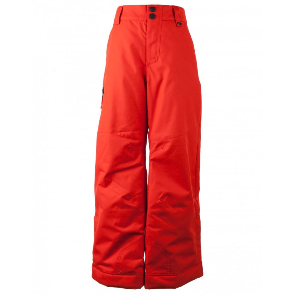 OBERMEYER Boys' Brisk Ski Pants - RED