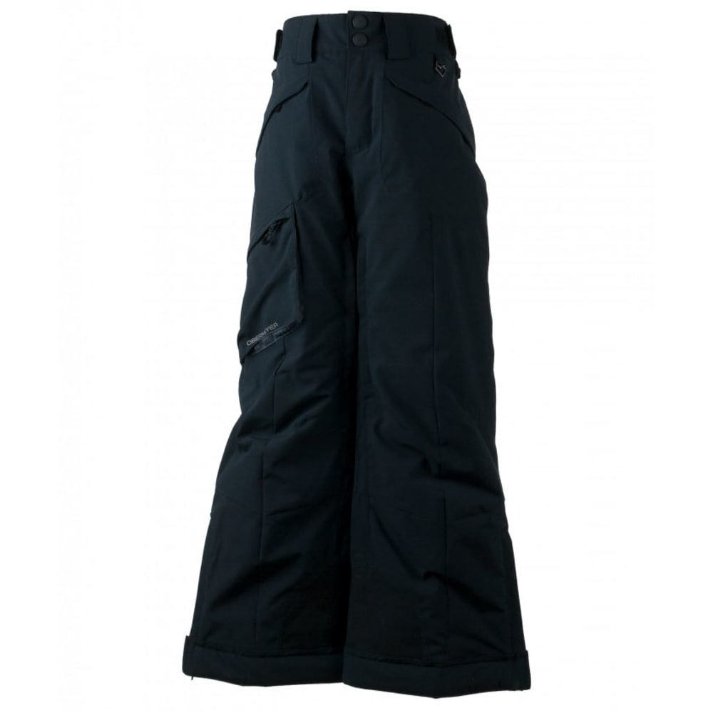 OBERMEYER Boys' Porter Ski Pants - BLACK