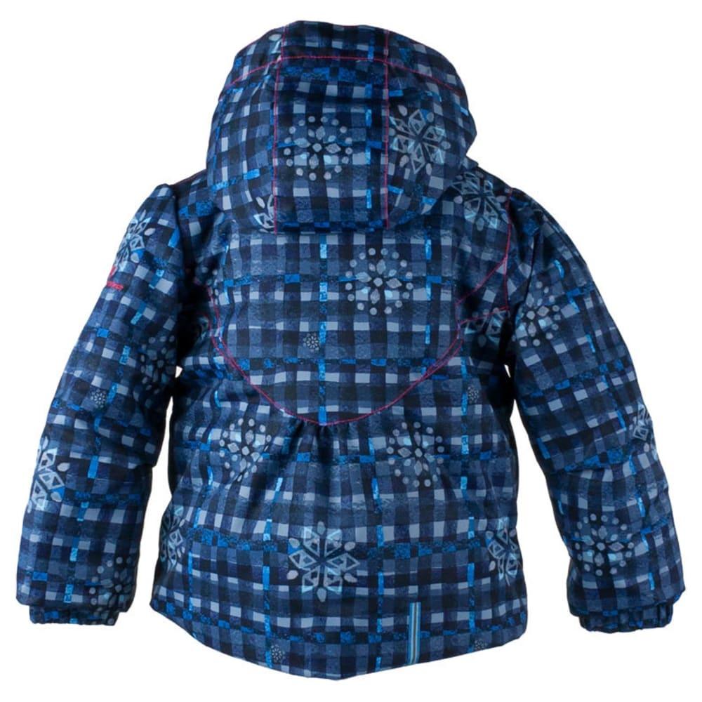 OBERMEYER Girls' Crystal Jacket - EVERYDAY BLUES