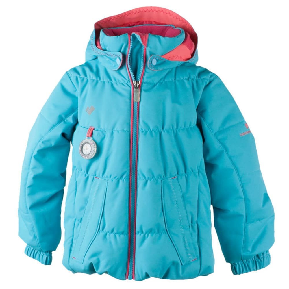 OBERMEYER Girls' Marielle Jacket - SPARKLE BLUE