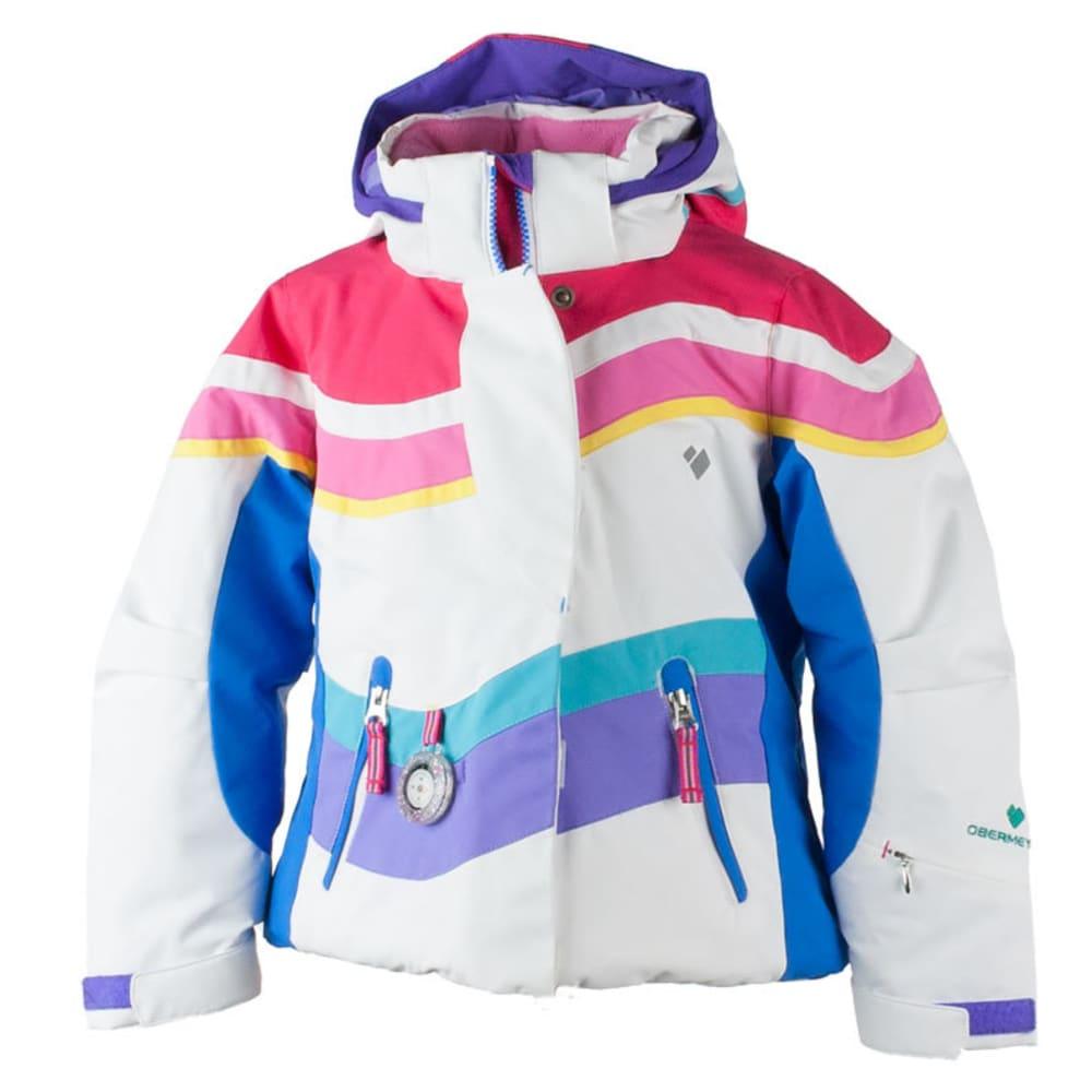 OBERMEYER Girls' North-Star Jacket - WHITE
