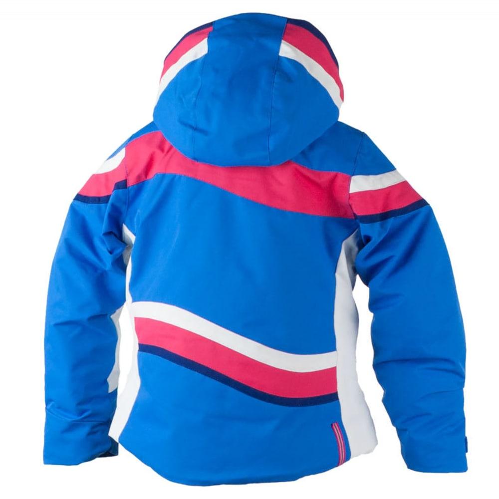 OBERMEYER Girls' North-Star Jacket - STELLAR BLUE