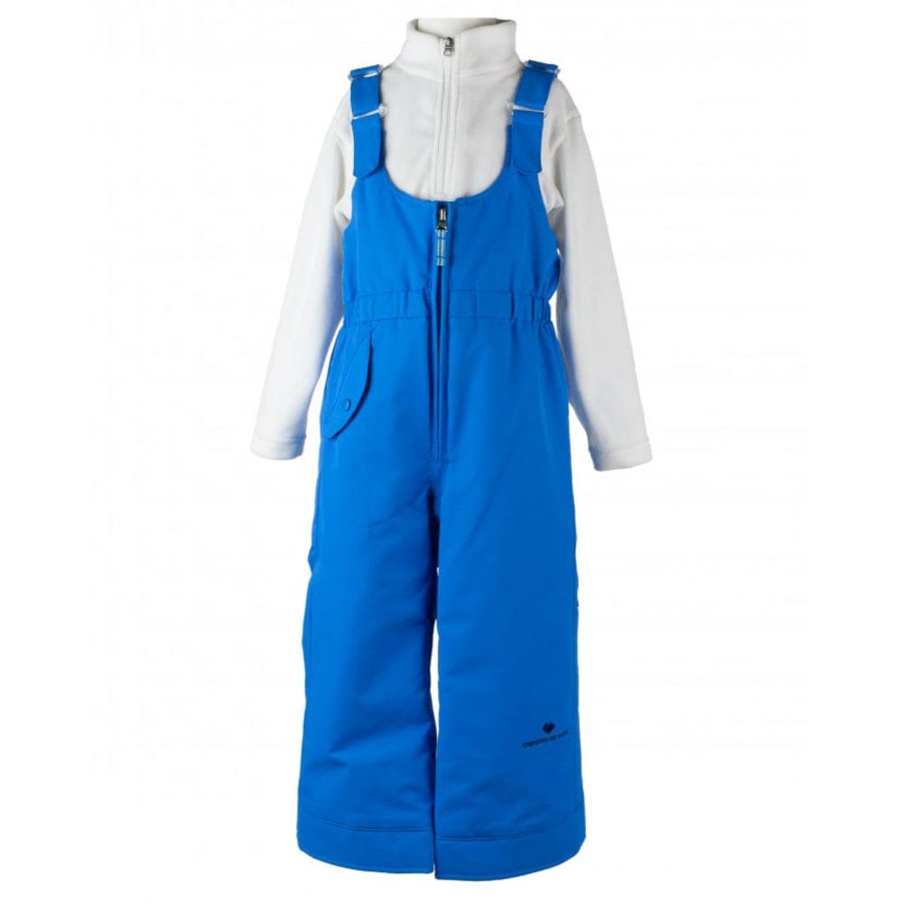OBERMEYER Girls' Snoverall Pants - STELLAR BLUE