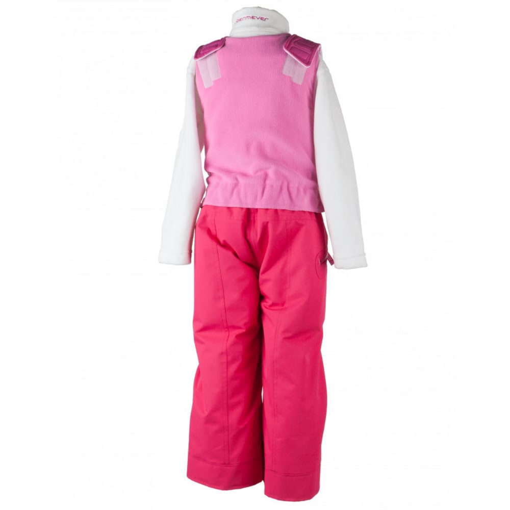OBERMEYER Girls' Ober-All Bib Snow Pants - SMITTEN PINK