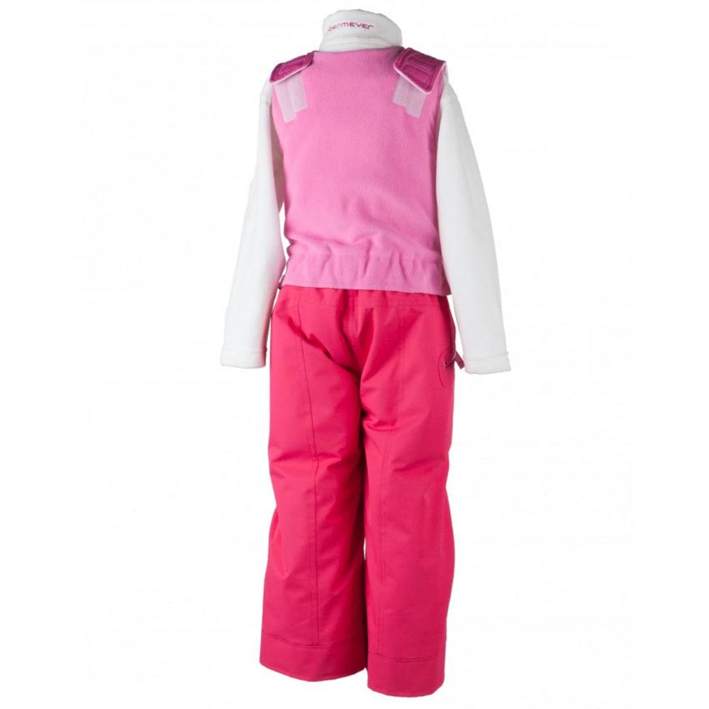 OBERMEYER Girls' Ober-All Bib Snow Pants - SMITTEN PINK