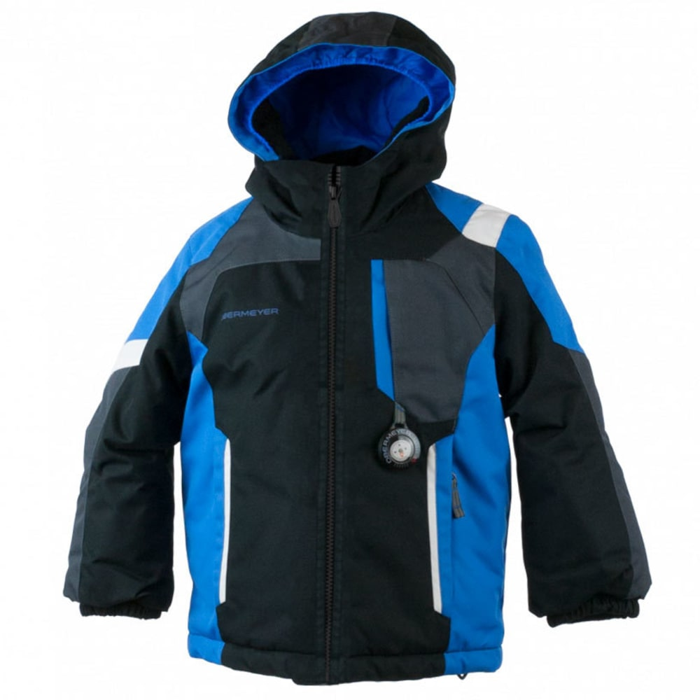 OBERMEYER Boys' Scout Jacket - BLACK