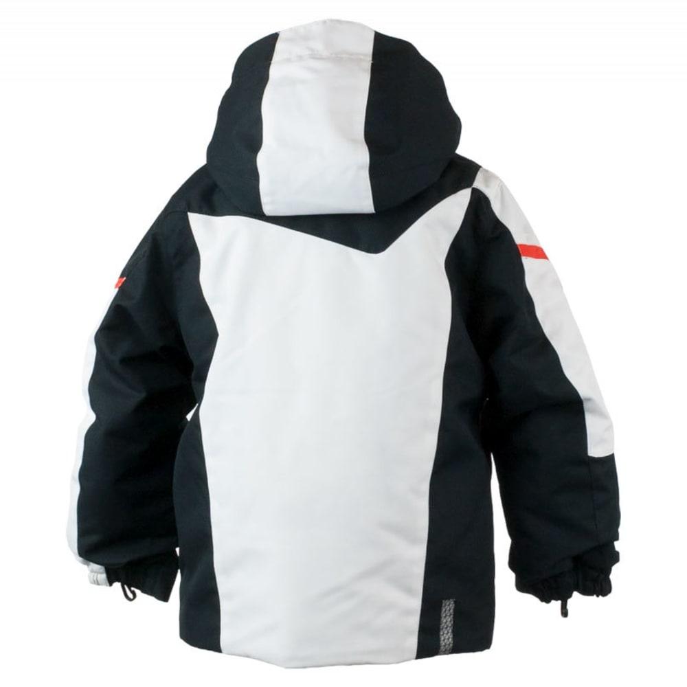 OBERMEYER Boys' Super G Jacket - WHITE